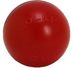 Jolly Pets Push-n-Play Ball Dog Toy Red - 15.24 cm