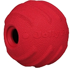 Jolly Pets  Jolly Tuff Tosser Dog Toy Red - 10.1 cm
