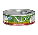Natural & Delicious Prime Chicken & Pomegranate Adult - 80 gm (12 Cans)