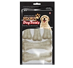 Fekrix Mini Rawhide Pressed Bone 7.6 cm - 8 Pcs