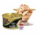 Sheba Deluxe Tuna White Meat & Snapper In Gravy For Adult Cat - 85 gm (Pack Of 4)