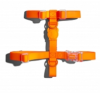 Zeedog Neopro Tangerine Dog H-Harness- Large