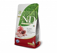 Farmina N&D Dry Cat Food Grain Free Chicken & Pomegranate Kitten - 300 gm (Pack Of 20)
