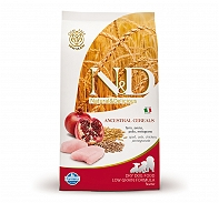 Farmina N&D Dry Dog Food Chicken & Pomegranate Starter Puppy - 2.5 kg (Pack Of 4)