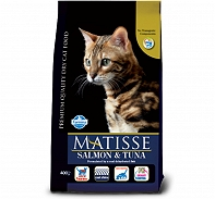 Matisse Neutered Adult Cat Food Salmon & Tuna - 1.5 Kg (Pack Of 8)