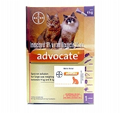 Bayer Advocate For External Parasites For Cat - 4 to 8 kg