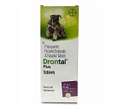 Bayers Drontal Plus Dewormer For Dog - 20 Tablets