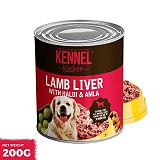Kennel Kitchen Lamb Liver With Haldi & Amla - 200 gm ( Pack Of 5 )